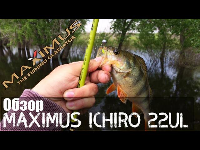 Лучший бюджетный спиннинг для ультралайта Maximus Ichiro 22UL