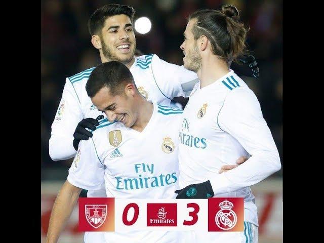 CD Numancia - Real Madrid C.F. 0:3 All Goals Highlights HD ● 4 Jan 2017 ● Copa del Rey