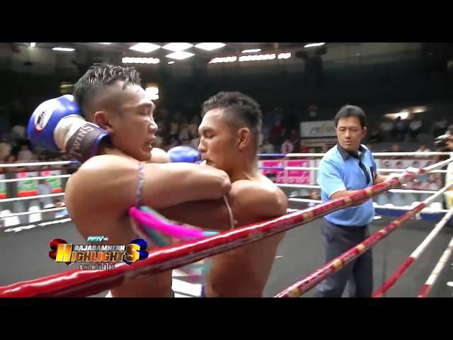 Тайский бокс видео Нокаут локтем