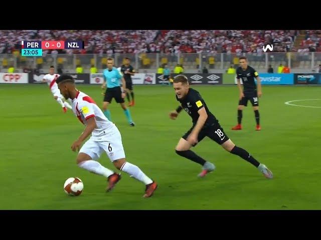 Miguel Trauco vs Nueva Zelanda (Home) ► Repechaje al Mundial 15112017