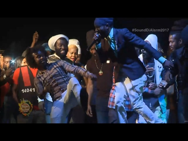 Popcaan Sizzla Energetic Performance at Sound Di Alarm 2017