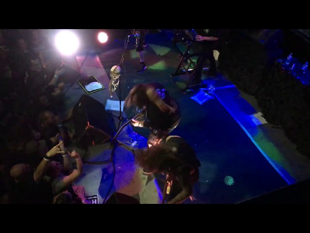 Soulfly Nailbomb Sick Life live at DNA Lounge 10/08/17