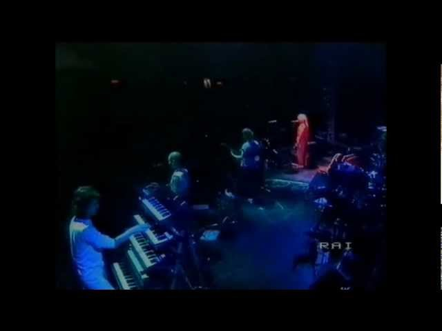 Mike Oldfield - To France (Live in Viareggio 1984) VHSrip