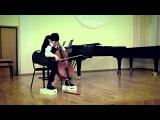 L.van Beethoven - Контрданс. Даниил Никонов, Ирина Кривченко