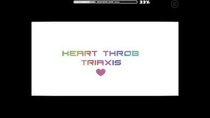 GeometryDash heart throb by TriAxis
