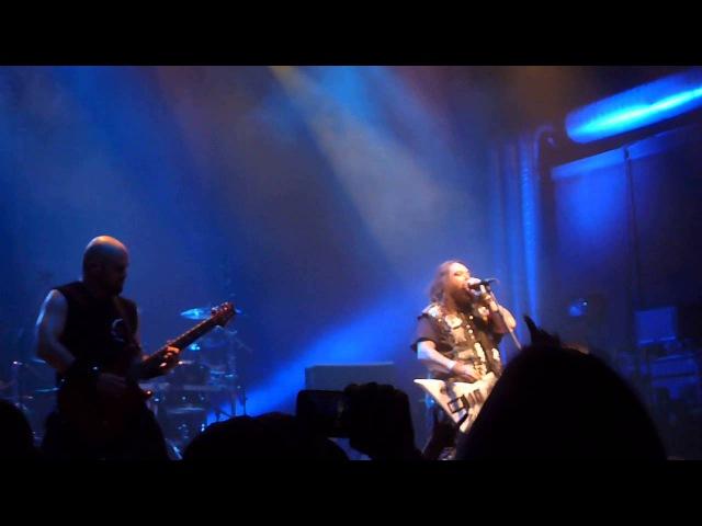 Cavalera Conspiracy plays early Sepultura medley, live 20.06.2015 in CH-Pratteln at Z7 Konzertfabrik