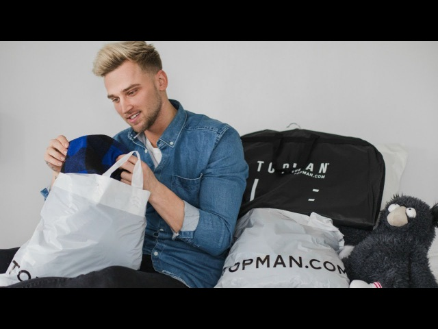 MENS AFFORDABLE TOPMAN TRY ON HAUL | Valentines Day Outfit Ideas