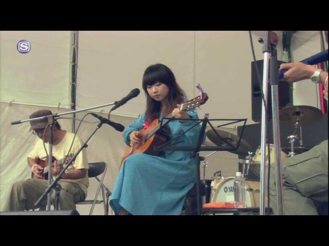 高江音楽祭セッション (石原岳・勝井祐二・青葉市子) - いりぐちでぐち @ りんご音楽祭2013