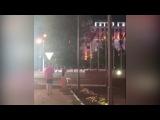 Житель Астаны снял на видео