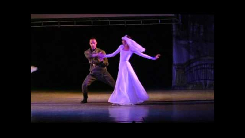 Brides from the musical Homefront Jazz Ballet of Valery Tereshkin