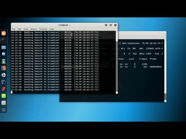 Wifi (WPA WPA2) crack using Kali Linux 2017.3 step by step :)