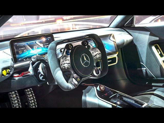 Mercedes AMG Project One INTERIOR Video In Detail New AMG P1 Interior CARJAM TV HD