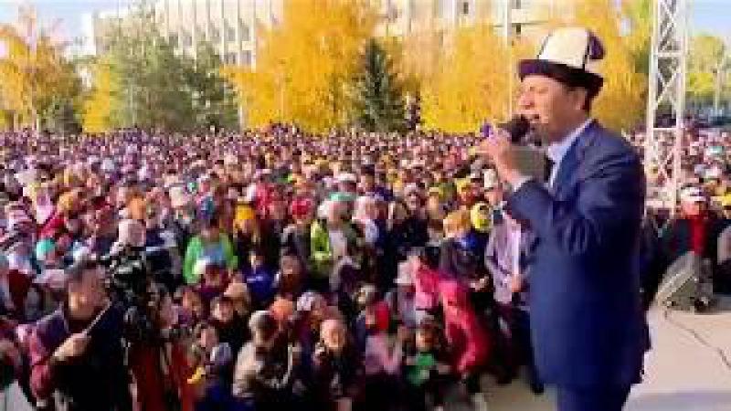 Бабанов Талас ЭЛИ менен | Шайлоо 2017
