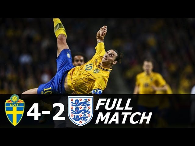 The Day Zlatan Ibrahimovic Destroyed England - Full Match (English Commentary) HD 720p