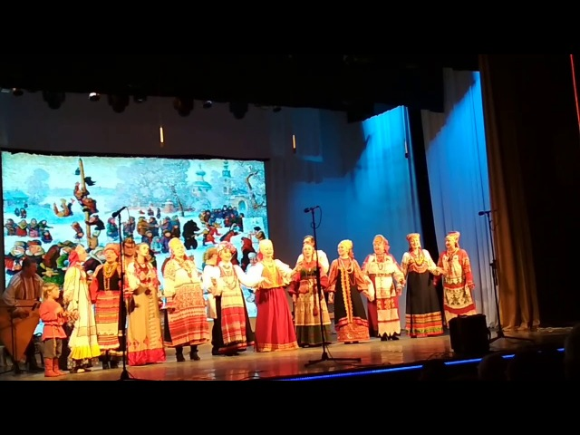 Часть 6. Концерт Масленица - Золовкины посиделки. Народный фольклорный ансамбль Русь