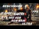 Far Cry 4460 GTX 960 4GB 8GB