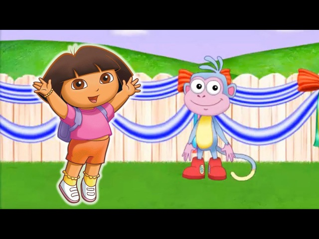 Dora's Great Big World Games Online