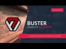 AVANGAR.BUSTER vs. MISFITS @ELEAGUE Major 2018 Main Qualifier