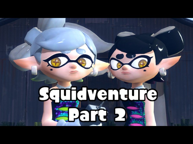 [gmod splatoon] Squidventure, begins (The pipe) (part 2)