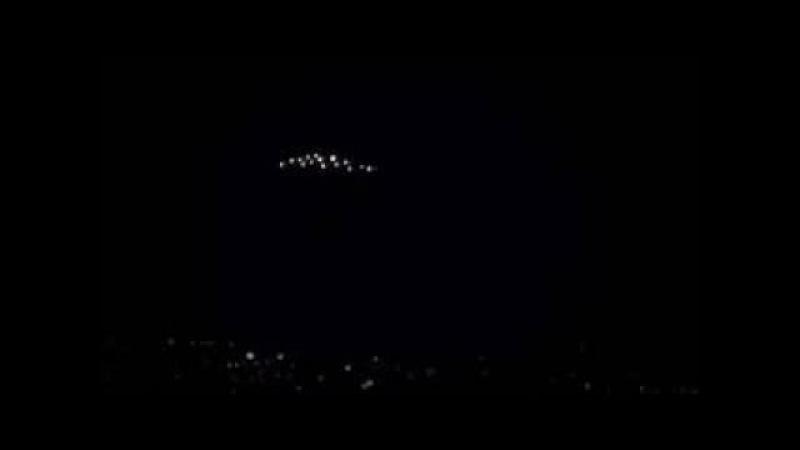 UFO Fleet Over Santiago, Chile