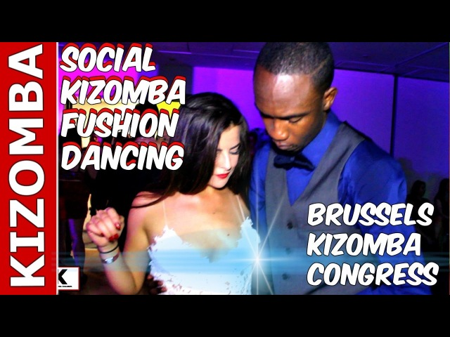 Social Kizomba Fusion Dancing Raw and Uncut at Brussels Kizomba Congress