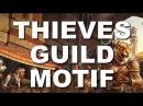 ESO Thieves Guild Motif Armor Weapons Elder Scrolls Online