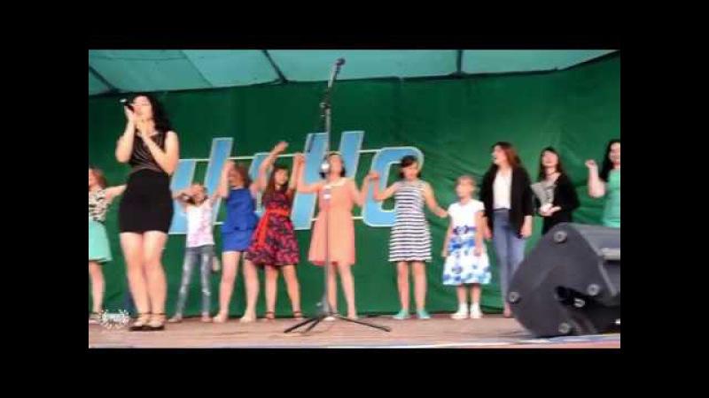 Фрагменты концерта вокального коллектива