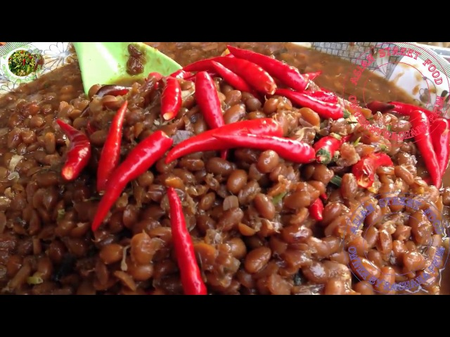 Street Food Part 005 | Asian Soybeans cooked Street Food in Phnom Penh Cambodia