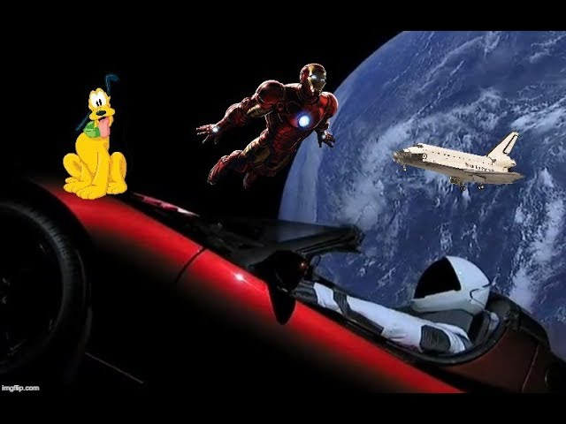 SpaceX Starman - To Infinity and Beyond - An Epic Journey!