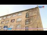 Пенза Новости - Обрушившаяся стена дома на улице Кулибина в Пензе восстановлена