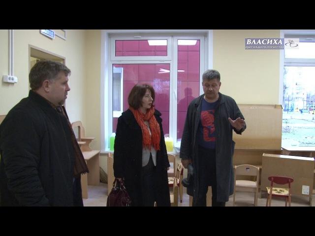 Приемка инспектором Пожнадзора детского сада «Солнышко»