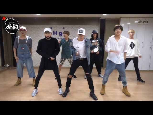 BTS Silver Spoon (Baepsae) mirrored Dance Practice