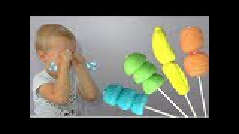Learn colors with Bad Baby Crying Nursery Rhymes Song  Sezame Street.