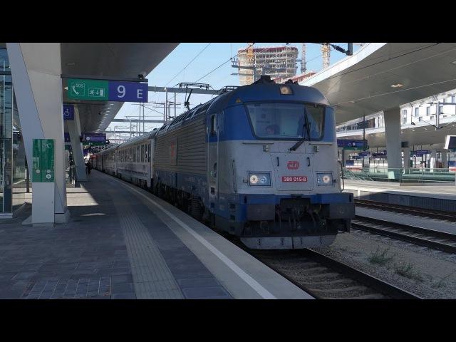 CD 380 015 am EC 102 ,,Polonia | Wien Hbf [4k]