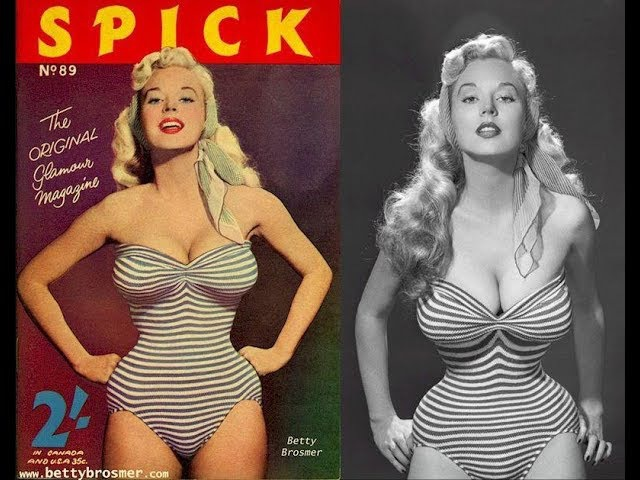 Бетти Бросмер - первая красавица конца 40-х и 50-х годов.