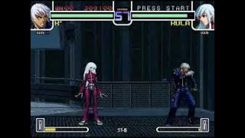 The King of Fighters XIV Kyo Vs Ryona Kula Diamond