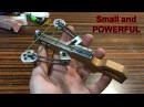 Reverse Draw Mini Compound Crossbow | MAKING (Shooting)