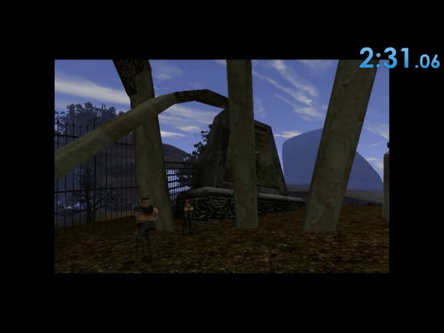 Gothic 2 Laer Gjoll (Horror of cemetery) mod in 2:31