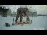Холод Якутии t -50 C t - 48  t -60 cold in Yakutia winter Siberia
