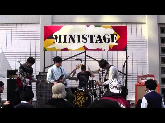 Mineral~Snowing~Capn Jazz ヤング一家 三田祭2014 3日目ミニステージ