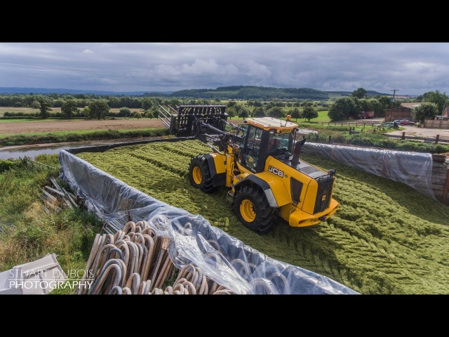 Silage with Pridays Contracting