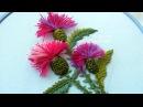 FLOWER EMBROIDERY ЦВЕТОЧНАЯ ВЫШИВКА