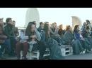 Rakitin-Kotnov - Pause [Livelooping impro on the roof, Gorky Park, Moscow]