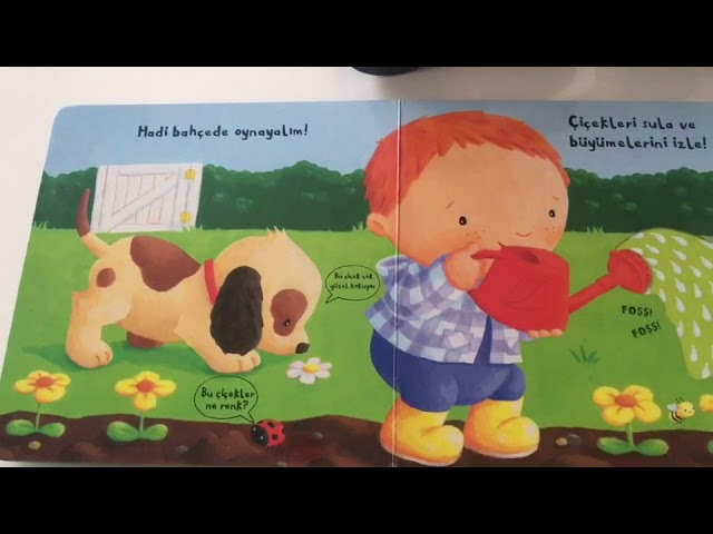 Hareketli Bahçe- 25 Yaş Çocuklar İçin Eğitici Kitap