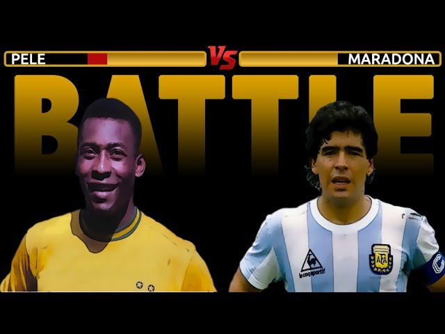PELE' VS MARADONA ● WHO'S THE GREATEST?