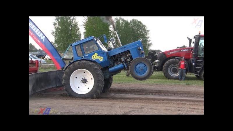 MTZ Jumz DT Belarus vs Claas Tractor show