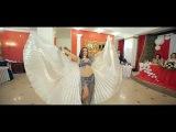Восточный танец с крыльями на свадьбе. Джамила. Наталья Коробченко