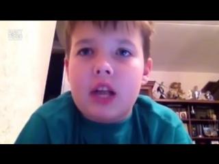 Русский мальчик повторил самый быстрый рэп (Eminem - Rap God)