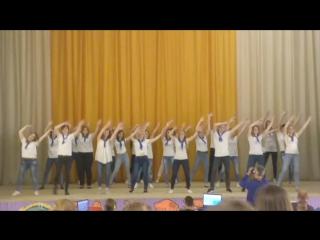 танец в белом, танец вожатых