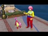 Геймплейный трейлер обновления Кошки и собаки для игры The Sims 4!